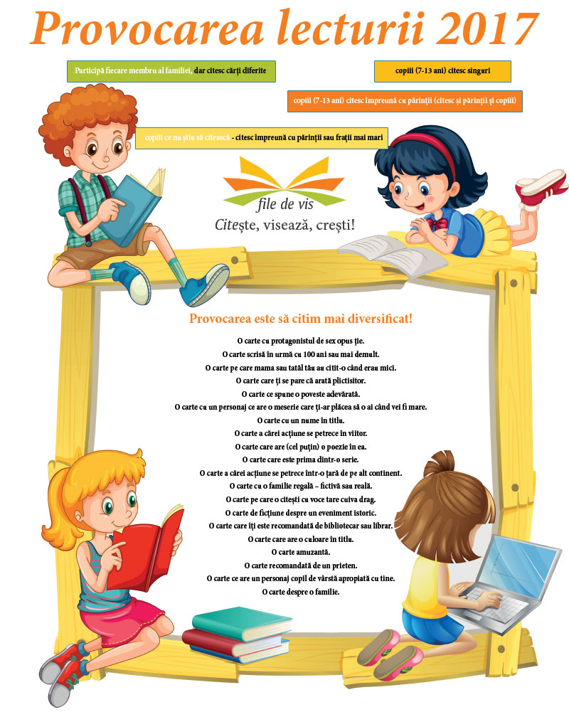 Provocarea lecturii 2017