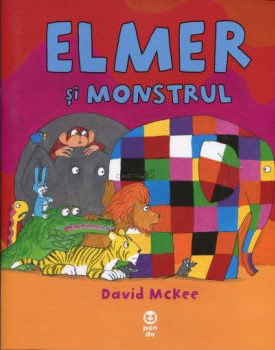 Elmer și monstrul – David Mckee