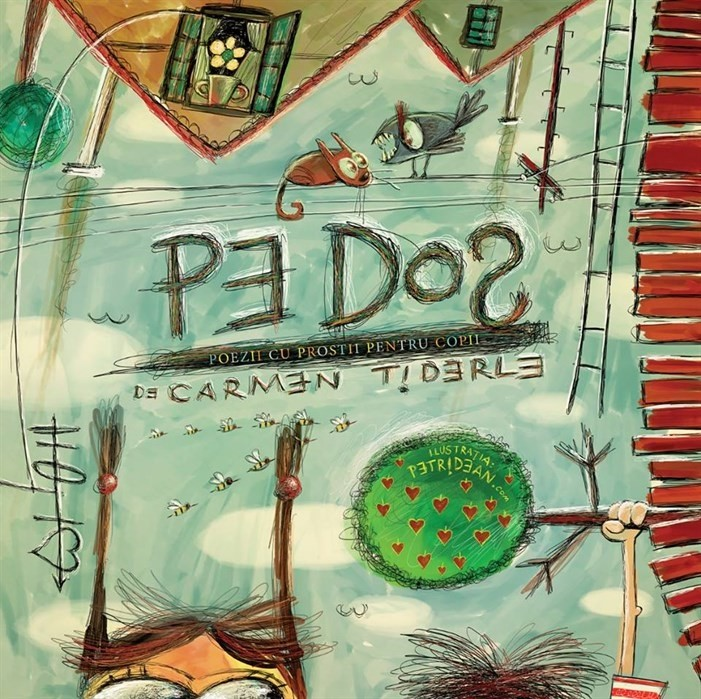 Pe Dos, poezii cu prostii pentru copii – Carmen Tiderle